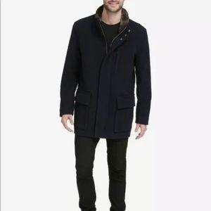 Cole Haan ~ Plush Coat ~ Faux Fur ~ Mens